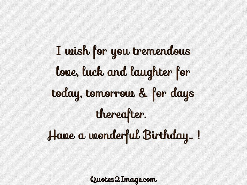 Superbe Birthday Quote Image 1295