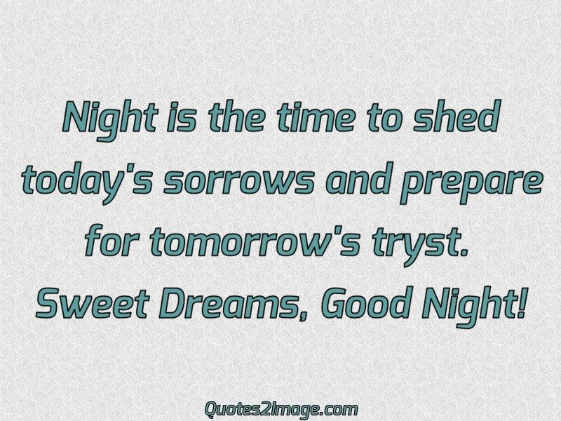 Good Night Quote Image 5551