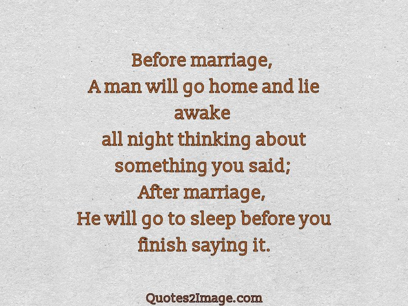 how to finish a marriage