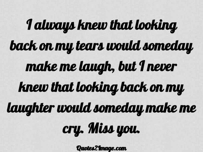 Missing You Quote Image 1626