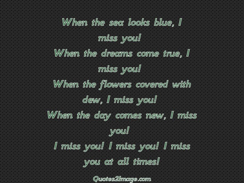 Missing You Quote Image 1784