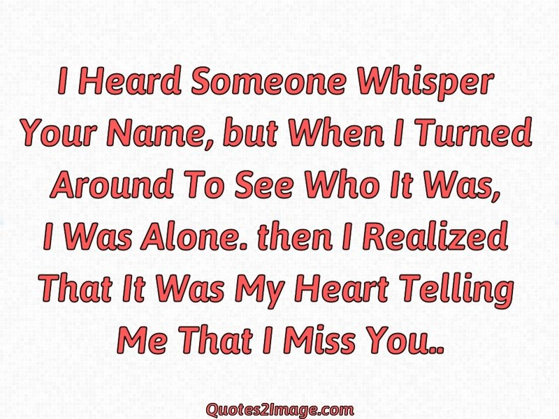 Missing You Quote Image 1906