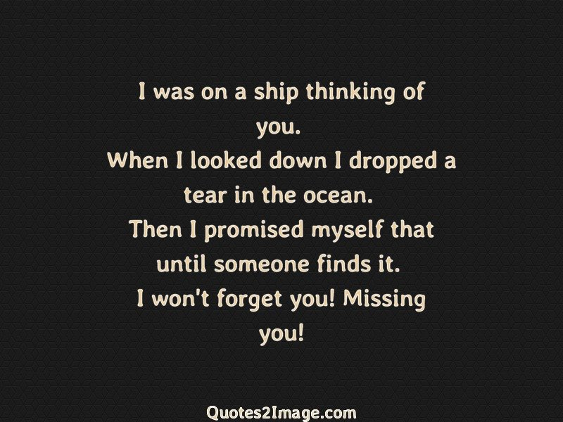 Missing You Quote Image 1932