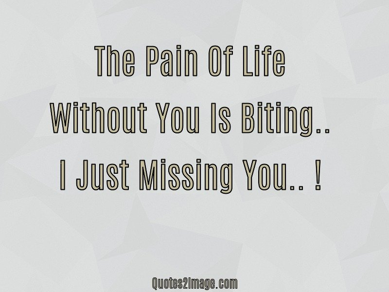Missing You Quote Image 3910