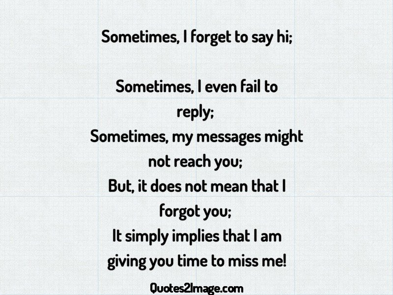 Missing You Quote Image 4185