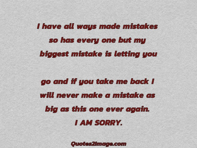 Sorry Quote Image 1624