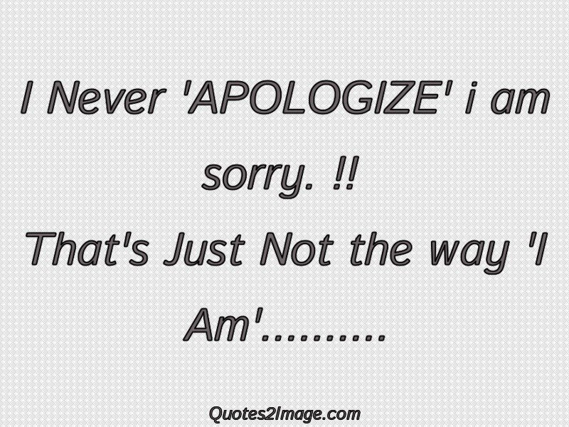 Sorry Quote Image 1766