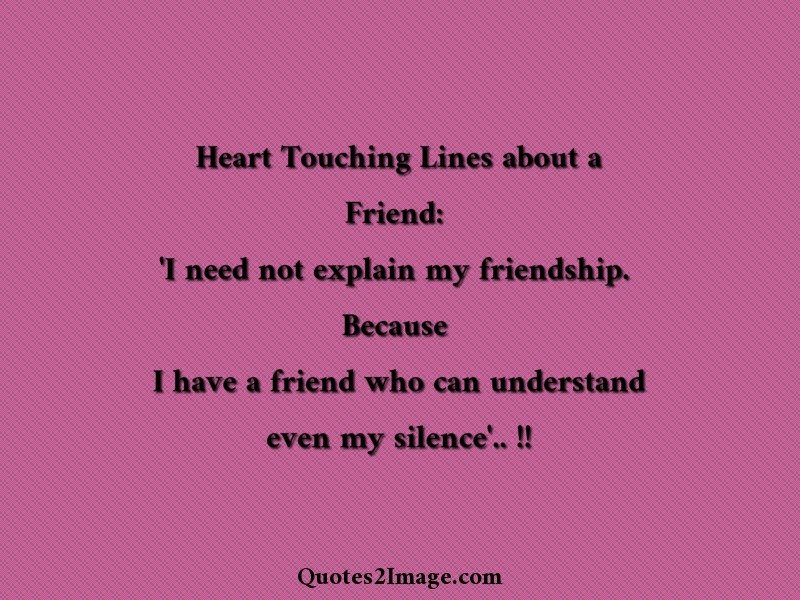 Heart Touching Friend Quotes For Her: Heart touching quotes for ...