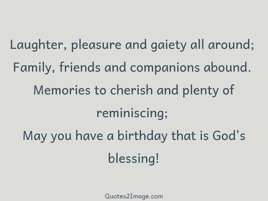 Birthday that is Gods blessing