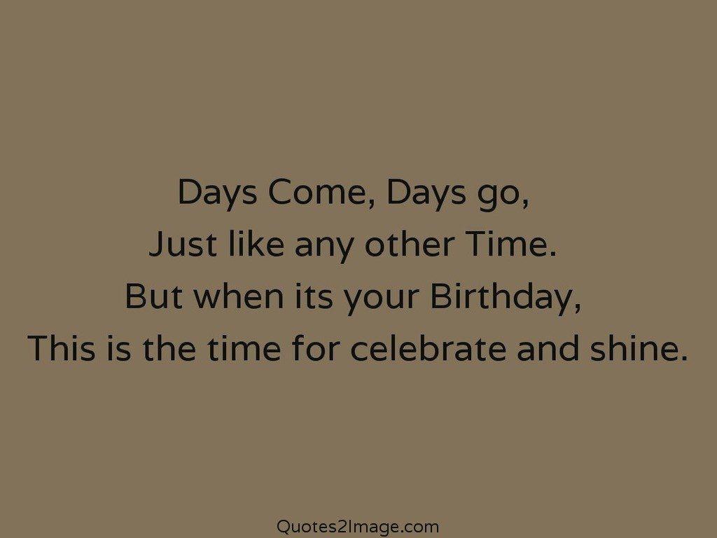 Celebrate and shine