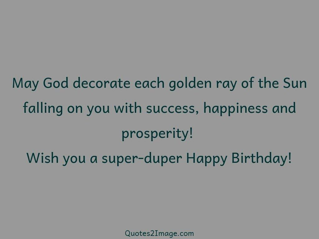 May God Decorate Each Golden Birthday Quotes 2 Image