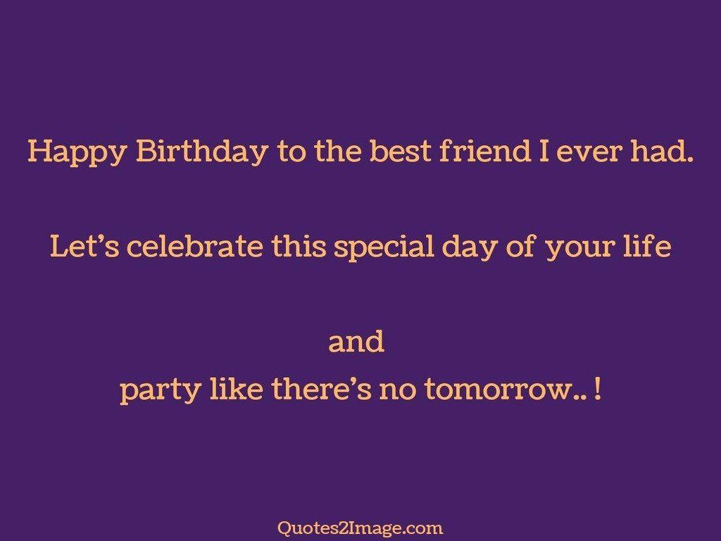 Happy Birthday to the best