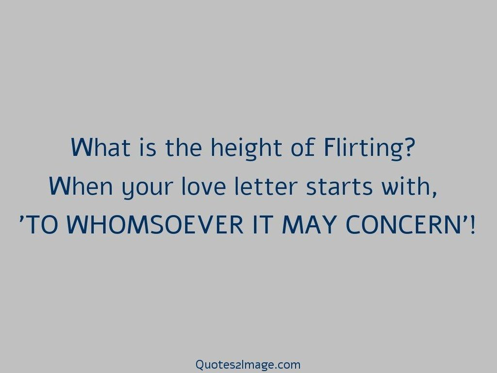 WHOMSOEVER IT MAY CONCERN
