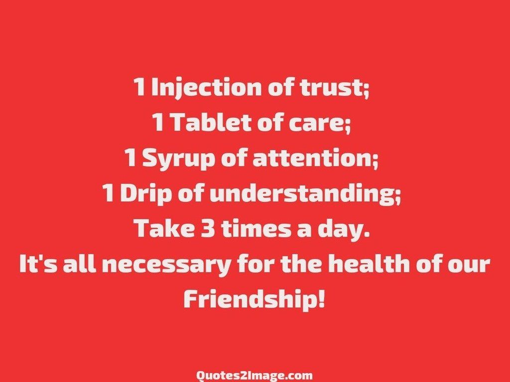 1 Injection of trust