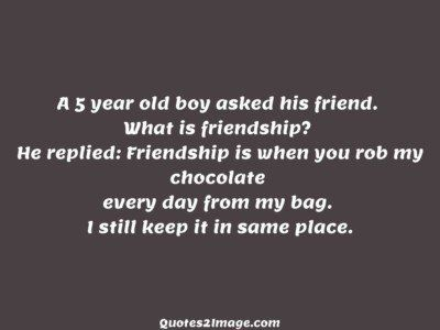 friendship-quote-5-year-boy