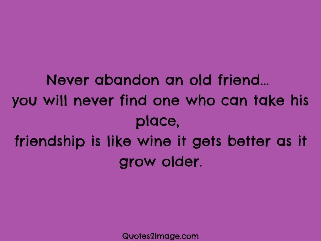 Better as it grow older