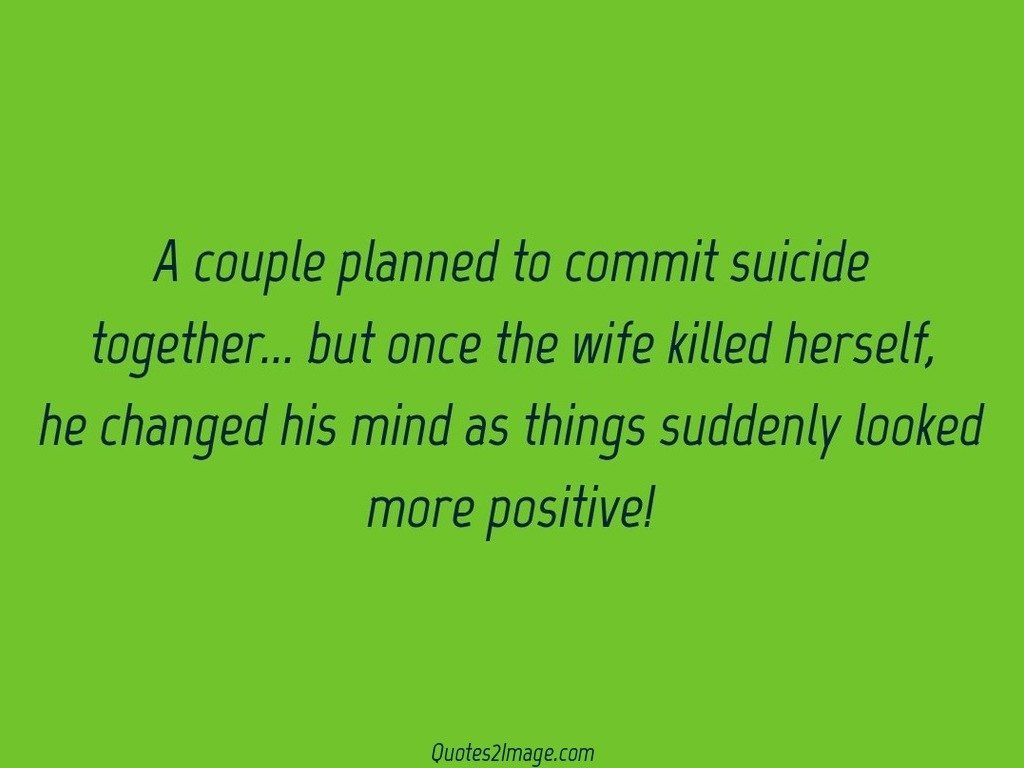 A couple planned to commit