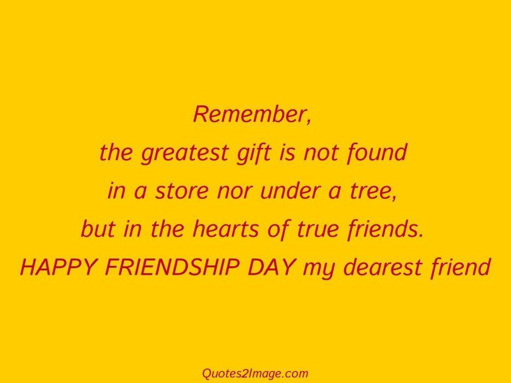 DAY my dearest friend