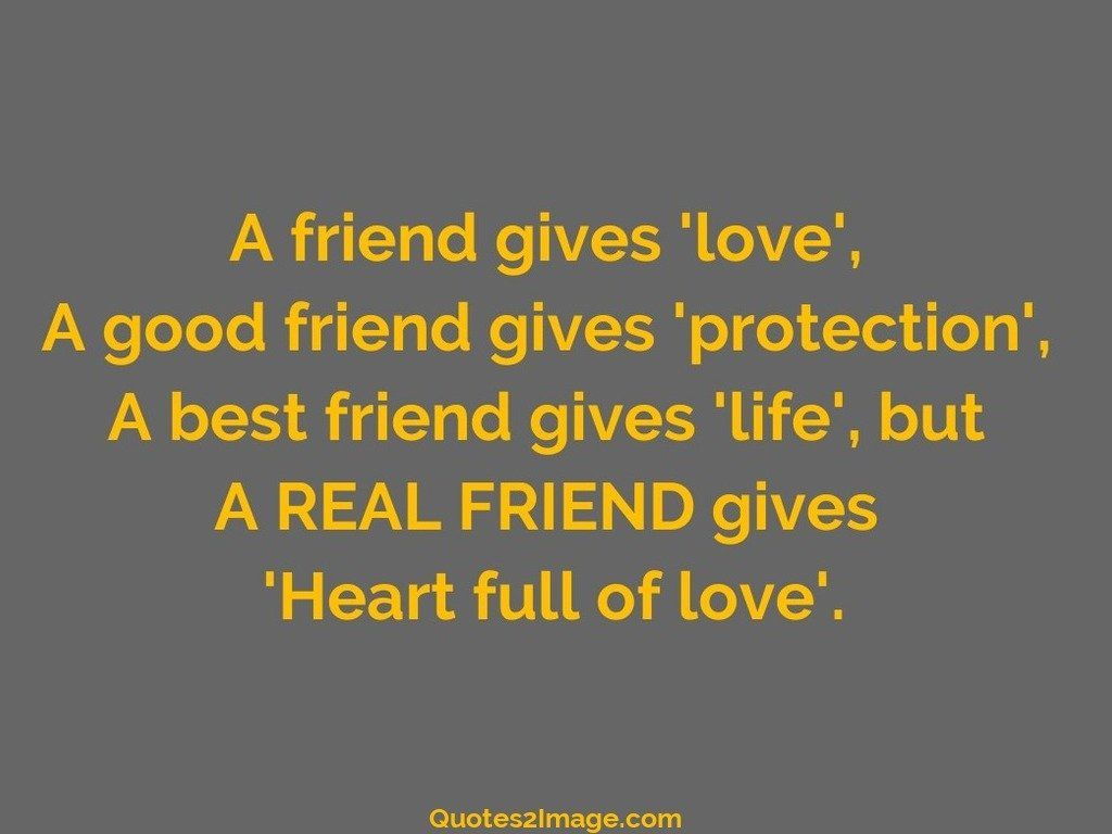 Love Friendship Quotes A Friend Gives Love  Friendship  Quotes 2 Image