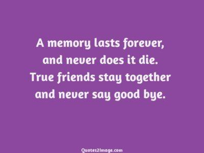 friendshipquotememorylastsforever