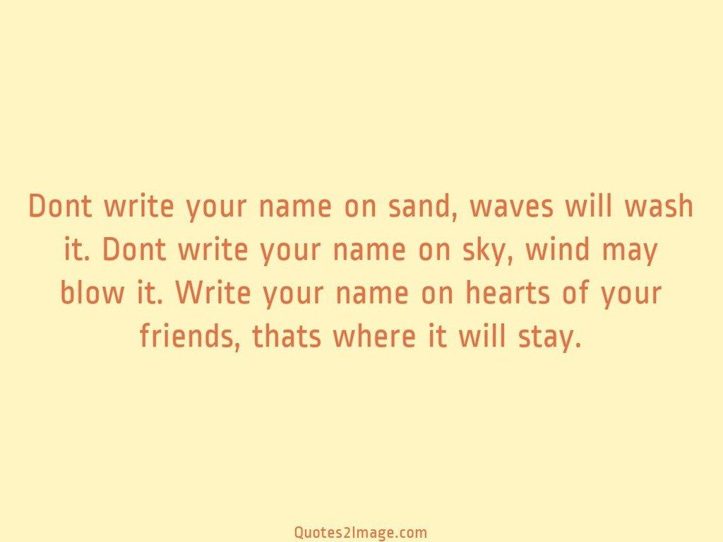 friendship-quote-write-name-sand