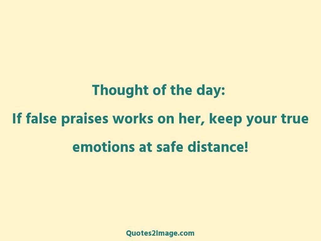 Emotions at safe distance