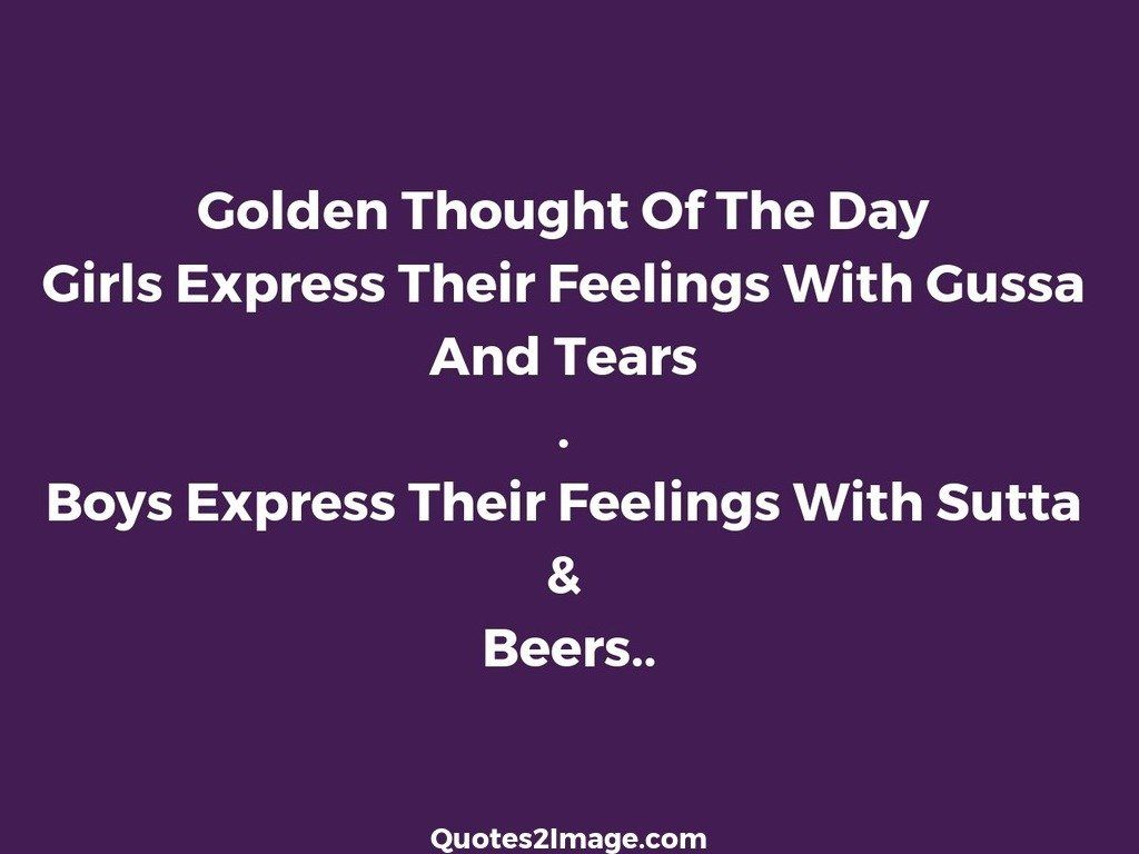 Thought For The Day Quotes Golden Thought Of The Day  Funny  Quotes 2 Image
