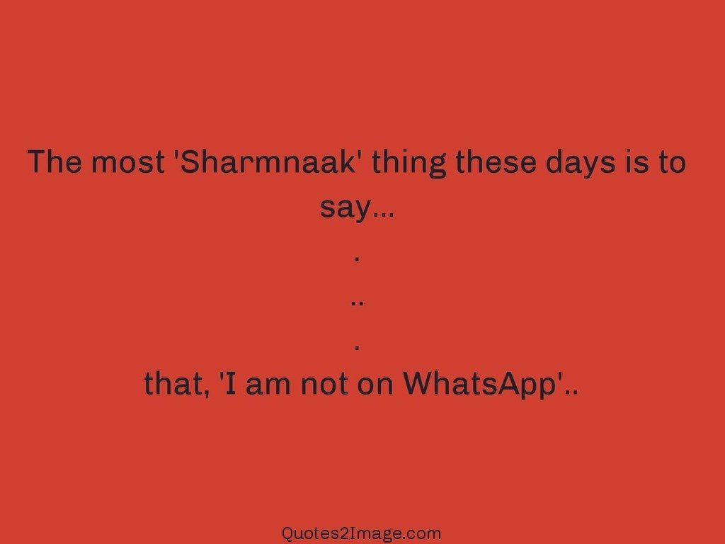 The most Sharmnaak thing these days