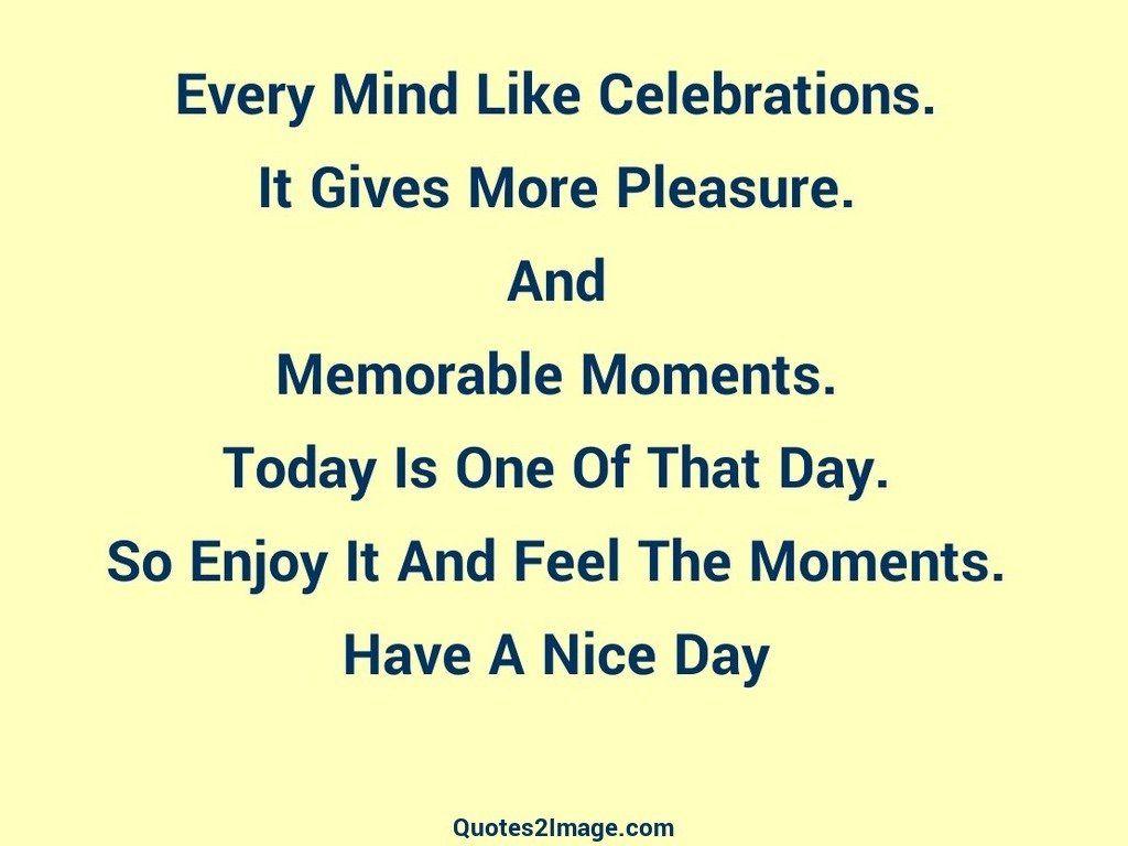Every Mind Like Celebrations