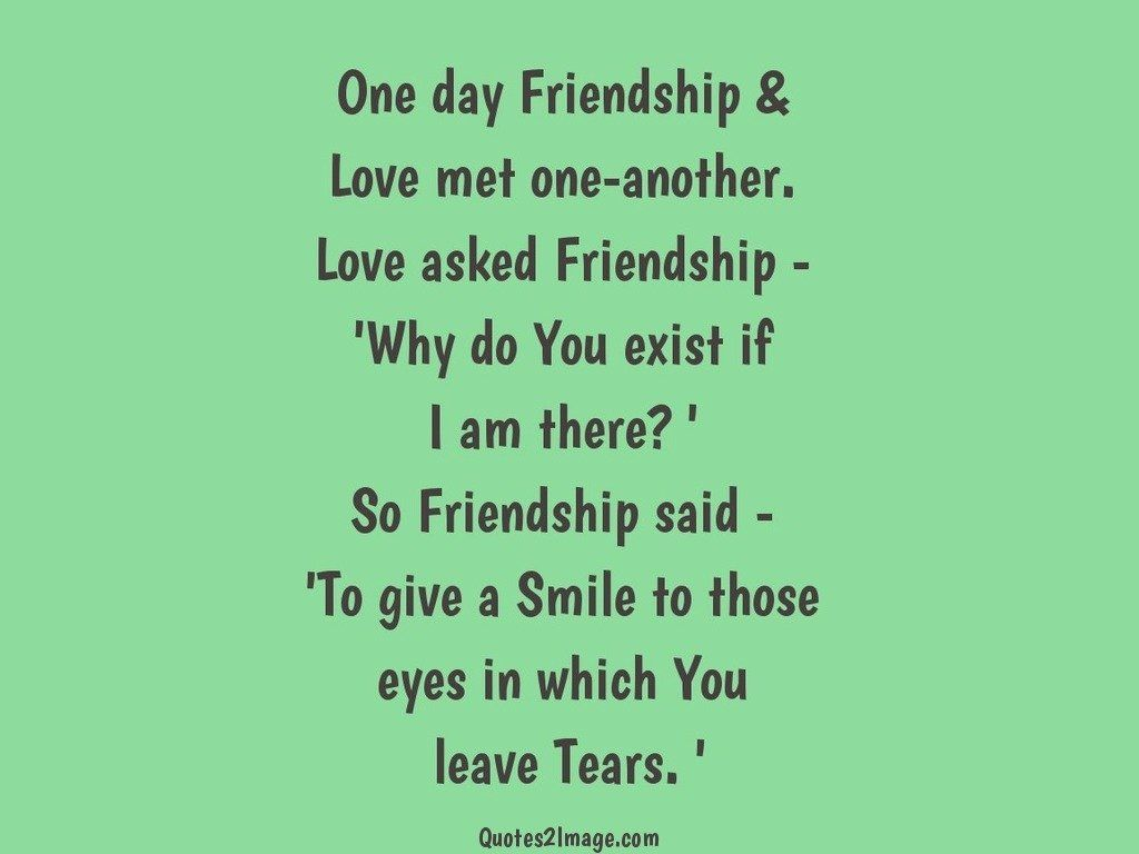 Good Quotes About Friendship One Day Friendship  Good Morning  Quotes 2 Image
