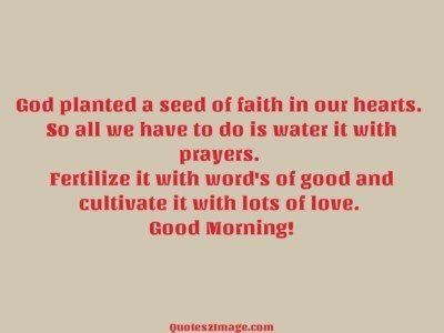 goodmorningquotegodplantedseed