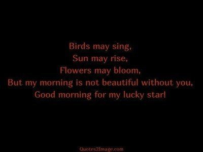 good-morning-quote-good-lucky-star