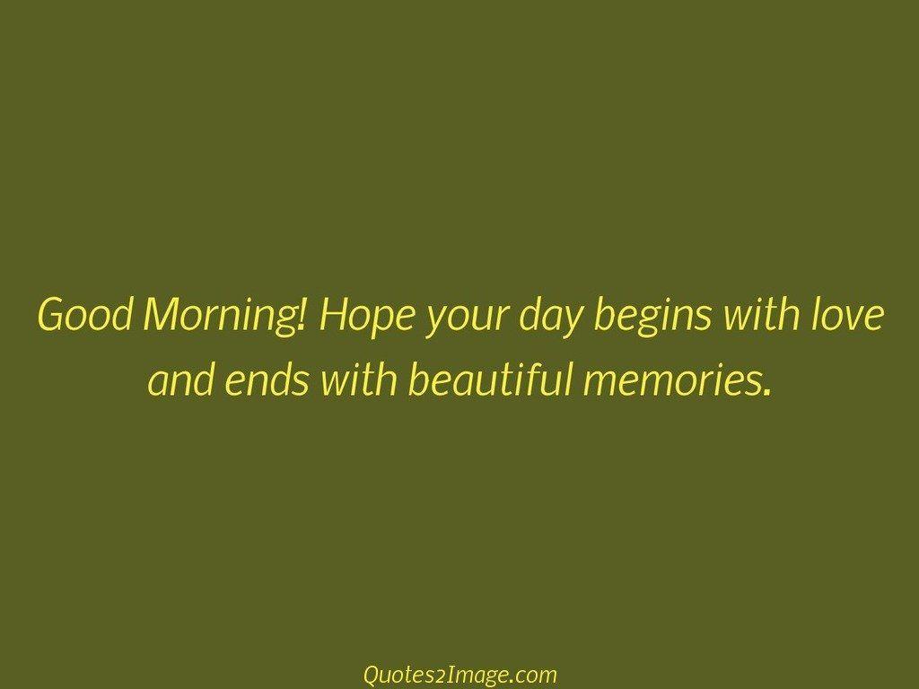 Good Morning Hope