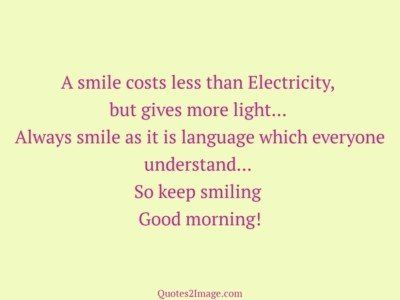 good-morning-quote-smile-costs-less