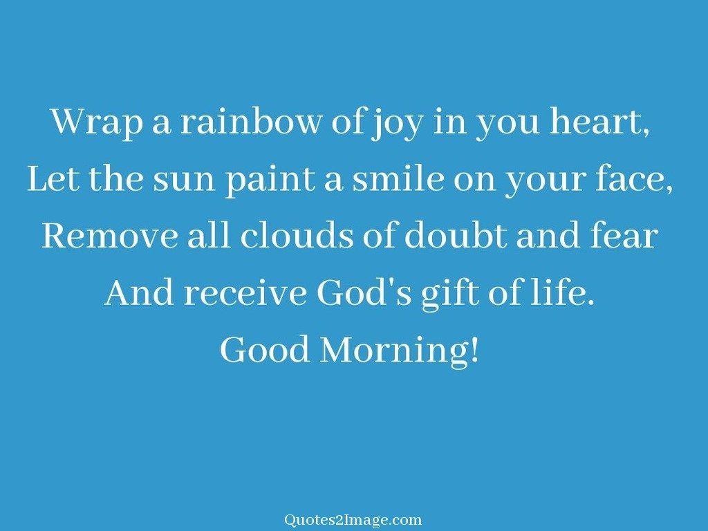 Wrap a rainbow of joy