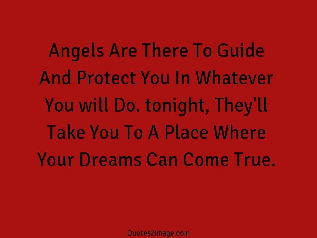 Angels Are There To Guide