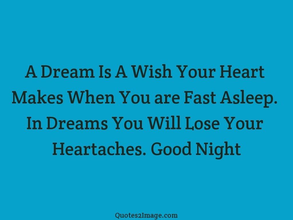 A Dream Is A Wish Your Heart