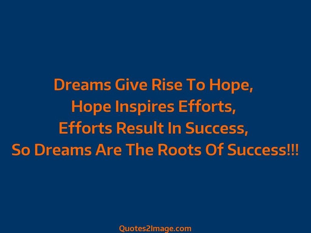 Dreams Give Rise - Good Night - Quotes 2 Image