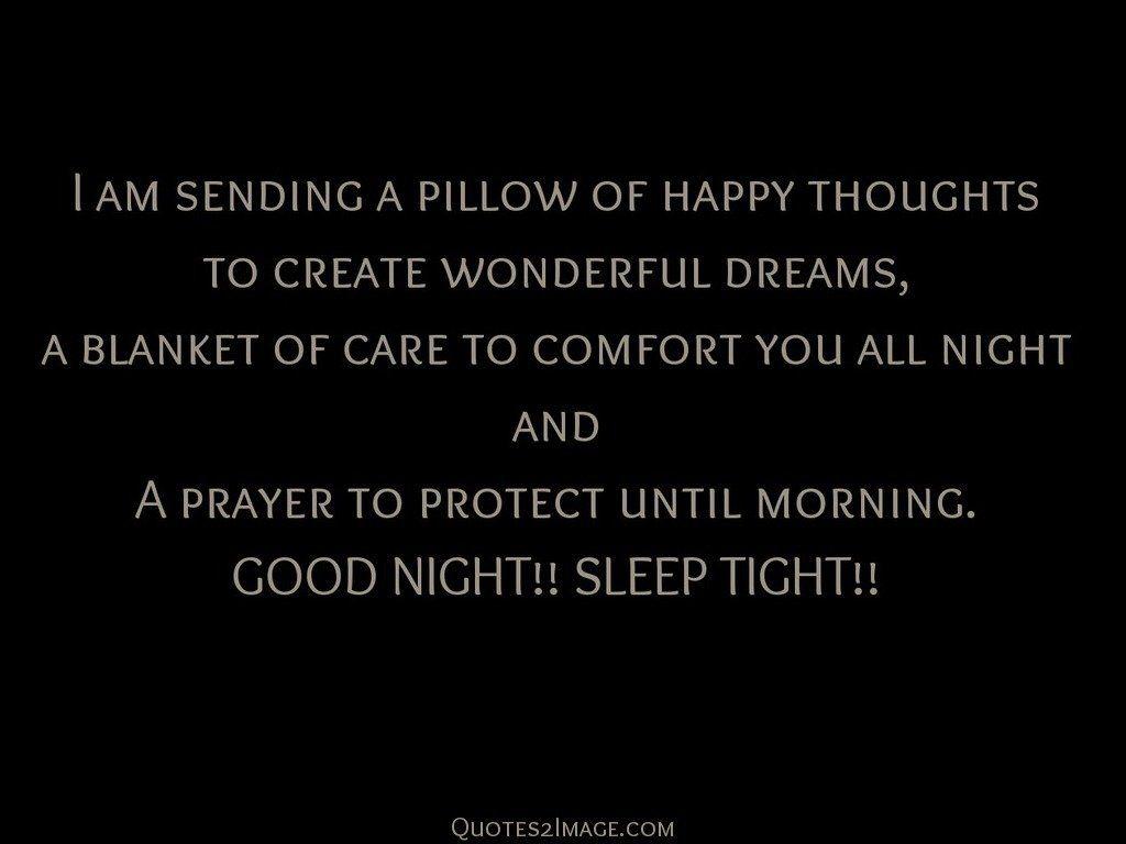 I am sending a pillow of happy