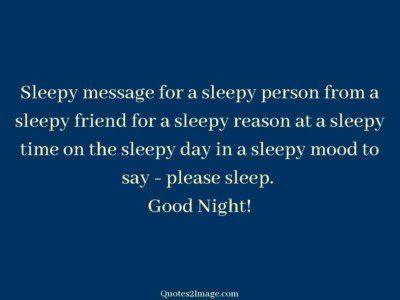 goodnightquotesleepymessageperson