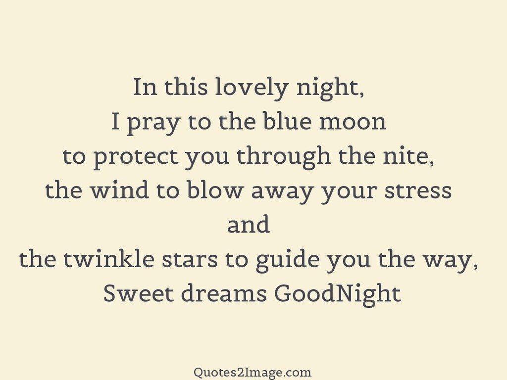 Sweet dreams GoodNight