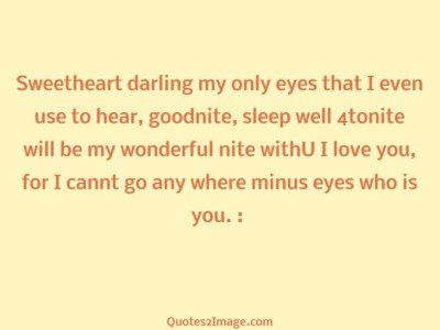 goodnightquotesweetheartdarlingeyes