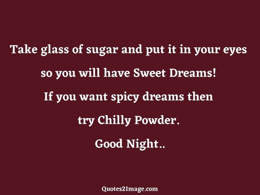 Take glass of sugar