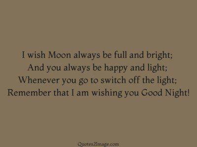 goodnightquotewishmoonalways