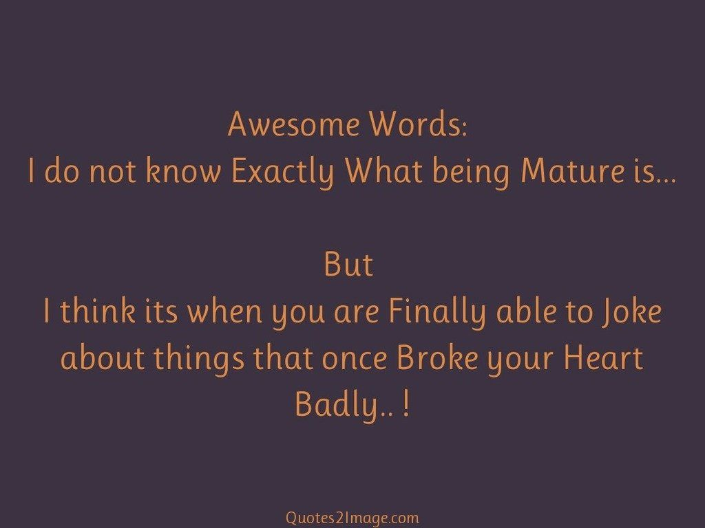 Awesome Words