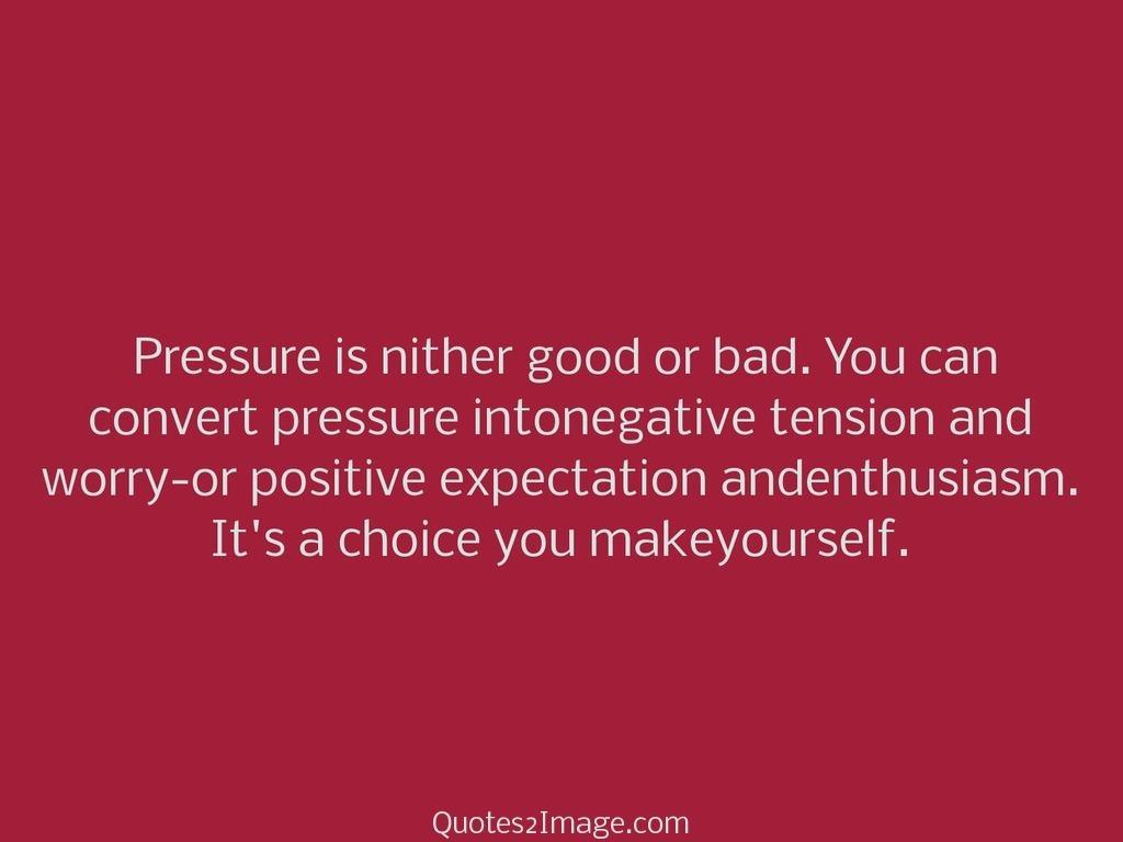 Choice you makeyourself