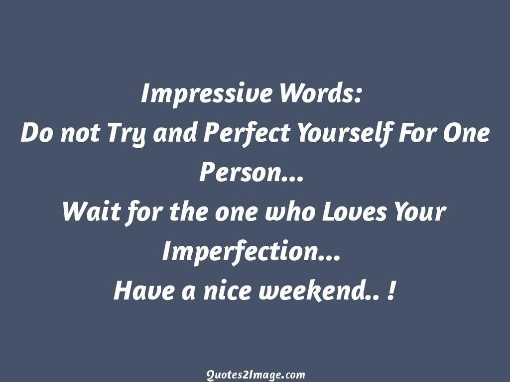 Impressive Words
