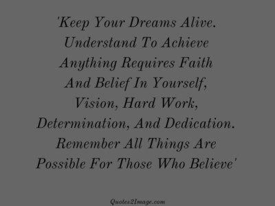 inspirationalquotekeepdreamsalive