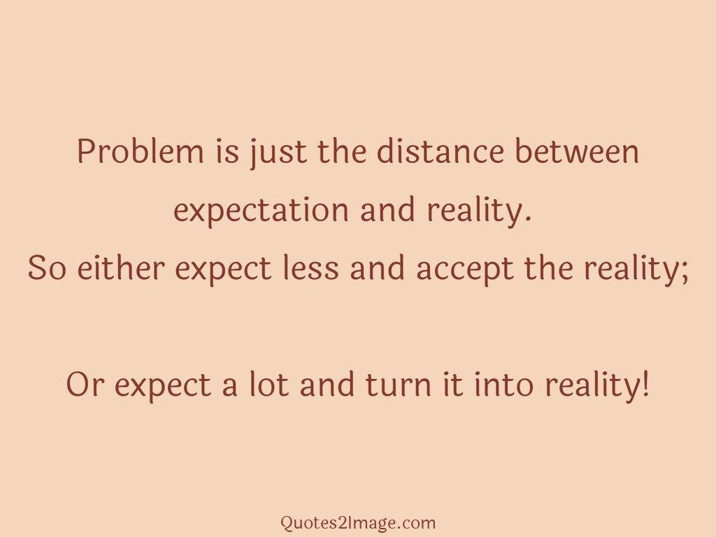 Problem is just the distance between expectation