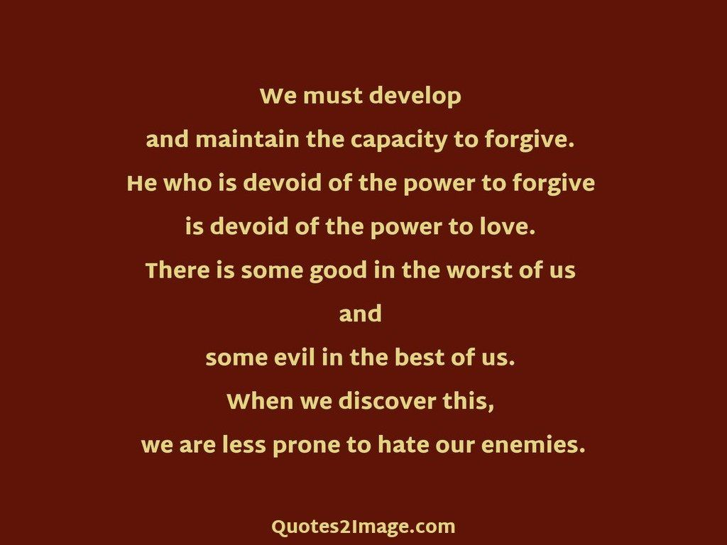Inspirational Quote Prone Hate Enemies Quotes 2 Image